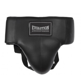 Professional Groin Guard Evolution Leather
